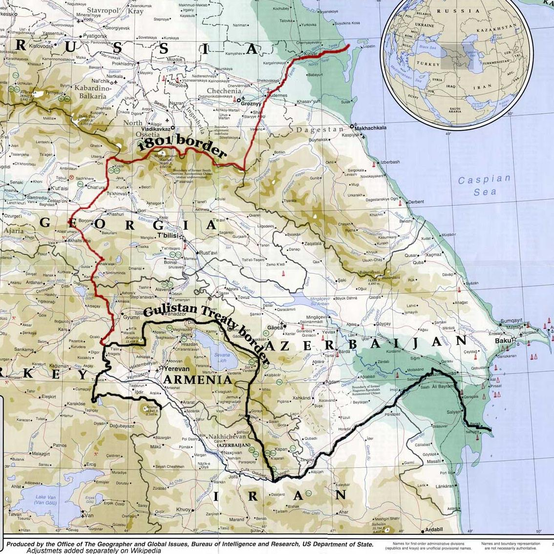 International Conference Centenary of the first period of the independence in republics of Caucasian  (1921-1918) (Caucasus Azerbaijan, Armenia and Georgia)